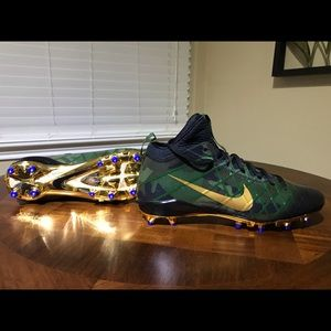 Nike Field General 3 Football Cleats Forest Green